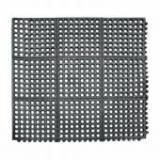9982915  Коврик барный резиновый черный (д/пола) 91*91см  P.L.