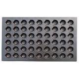 SN9050 Противень для выпечки Мадлен (ракушка) 600х400мм, 54 шт