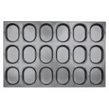 SN9207 Противень для кондитерских изделий Овал 600*400*32мм