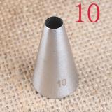 10 Насадка кондитерская диаметр основания 18 мм высота насадки 30 мм диаметр декоративного отверстия 6 мм