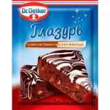 367250 Глазурь сахарная со вкусом темного и белого шоколада 100г. Dr.Qetker Россия